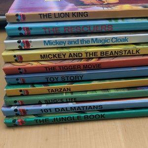 Disney Wonderful World of Reading Set 10 Books